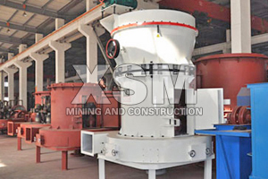 Barite 6R high pressure suspension grinding mill