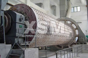 Iron ore ball mill