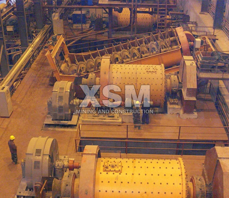 copper-ball-mill-application
