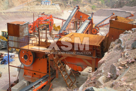 marble stone crusher application