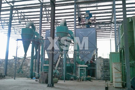 pulverized coal application