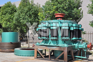 quartz stone cone crusher