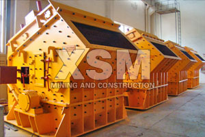 quartz stone impact crusher